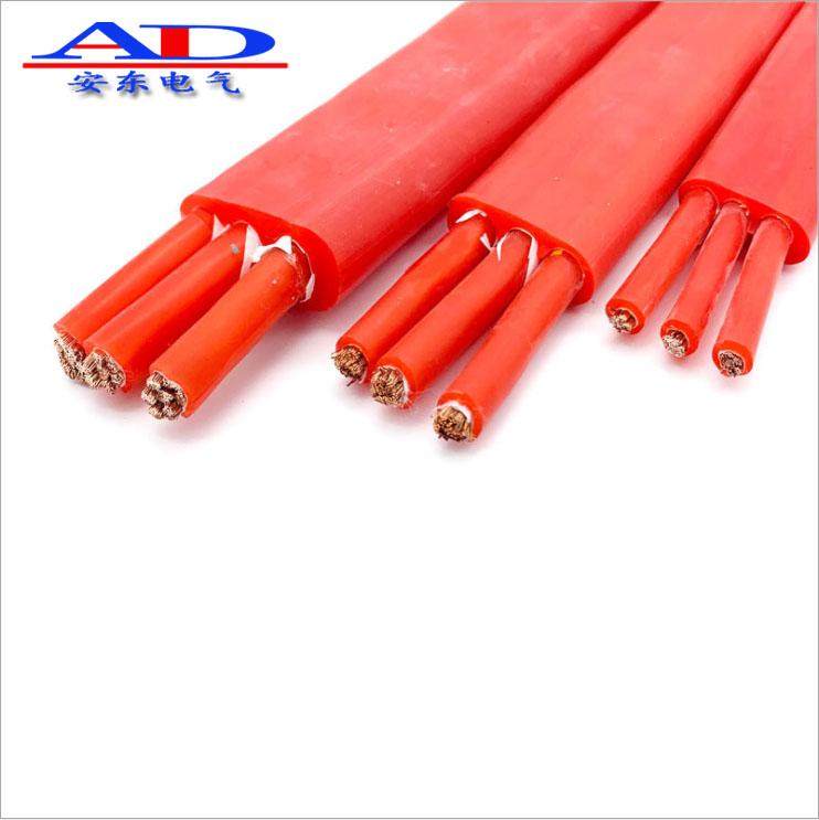 钢厂专用扁电缆 耐高温